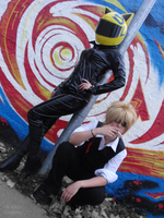 Durarara: Street lamp by BaKKaCosplay