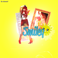 Smiley + by xblaackparadex