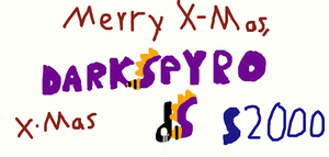 Merry X-mas dS by Shorty-Greydragon