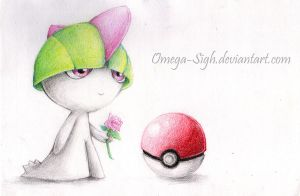 A Ralts n' A Rose by Omega-Sigh
