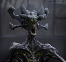 Alien head design by TARGETE