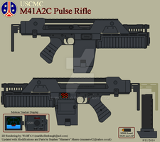 USCMC M41A2C Pulse Rifle by Wolff60