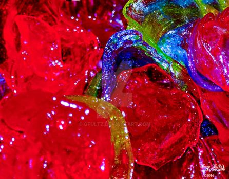 Abstract Candy Flowers by GFultz