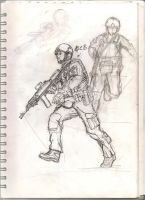 FSB sketch by PolishTrooper
