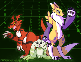 Tamers by cheesecakecauldron
