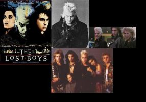 Lost Boys collage thing by Anubiasmoonlight