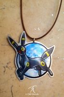 Umbreon Necklace by TrollGirl
