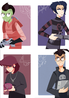 invader zim prints by 321dirge