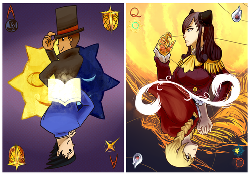 PL vs AA Cards by Pidoodle