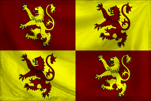 Flag of Hywel by Antrodemus