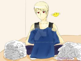 Practice: Hetalia Prussia by MaeMe96
