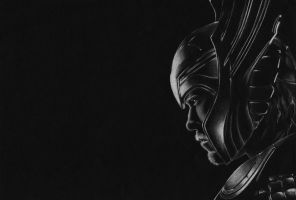 God of Thunder by Domenique2