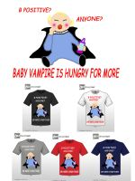 Hungry Baby Vampire by Nur8