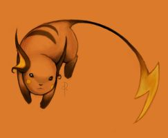 Raichu by Brainfog
