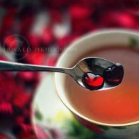 tea with love II by Orwald