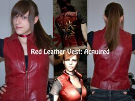 Claire cosplay - Red vest by Sheenah
