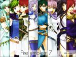 Wallpaper Fire emblem 7 girls by Creamia