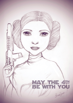 May the 4th be with you by brunasousa