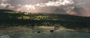 Darkness Falls by 3DLandscapeArtist