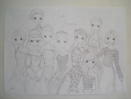 SNSD Drawing ~ The Boys by Leticiahtk