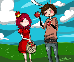 Picnic with Apfel by Rinnichin