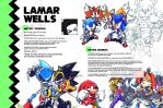 Sonic Art Collection (Pages 40-41) LAMAR WELLS by darkspeeds