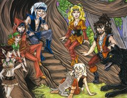 2011 ElfQuest Fan Calendar 1 by Eregyrn