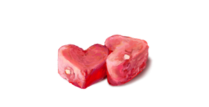 Two Watermelon Hearts by emptypulchritude
