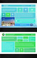 Metro Web UI by graphicsnme