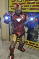 Iron Man at Free Comic Book Day 2013 by Old-Trenchy