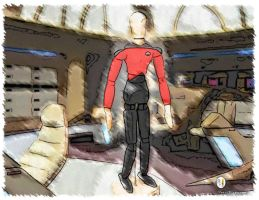 Marker effect on Picard by PencilComic