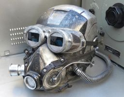 Dieselpunk Shock Trooper Mask MK IV by Zilochius