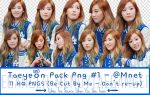 Taeyeon_Pack_PNG_#1_(11PNGs) by MendyTaegnager