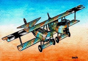 WWI Reconnaissance Plane by Frohickey