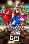 Sonic Boom Poster by miitoons