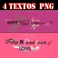 Textos PNG by Nobodyis-perfect
