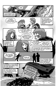 Gift Of The Horseman Page Four by RayGoldfield