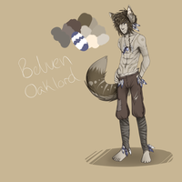Western wolf tribal leader - Belven Oaklord by Z-A-D-Y
