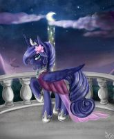 Princess Luna: Mother of Night by Wilvarin-Liadon