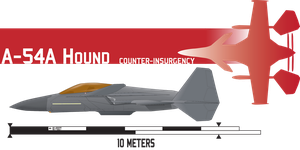 A-54A Hound COIN by Afterskies