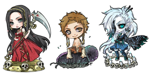 ::chibi comm set 3:: by rann-poisoncage