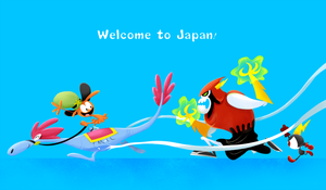WOY landing in Japan by robotoco