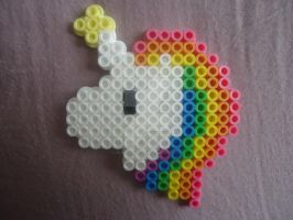The Power of a Unicorn by PerlerHime