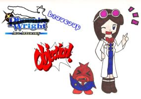 Ace Attorney: Beaucoup Wright by megrim96