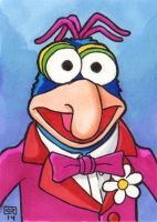 Gonzo Sketch Card by TheRigger