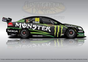 Monstering V8Supercars by ArmageddonDesigns