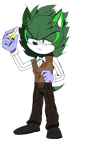 Mike Kayne Sonic Channel Style by SonicRulez21