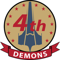 Demons Squadron Patch Galactica by talos56