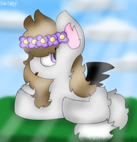 Art Trade With Enderdee11 + (Speedpaint) by RainbowPuppys