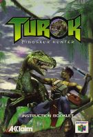 Turok Dinosaur Hunter Instruction Booklet (Manual) by Razpootin